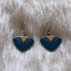 Western Roman turquoise Earrings